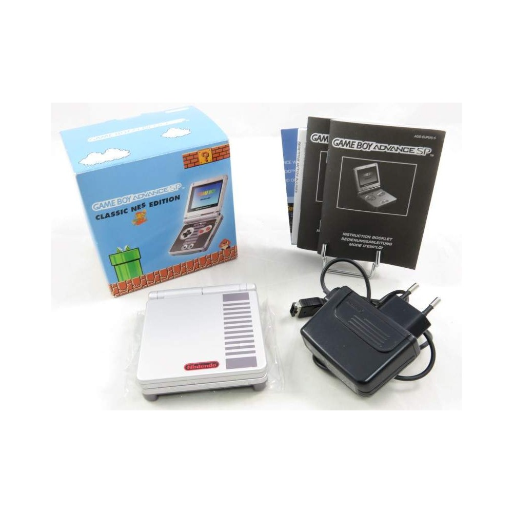 CONSOLE GBA SP CLASSIC NES EDITION EURO (NEAR MINT)