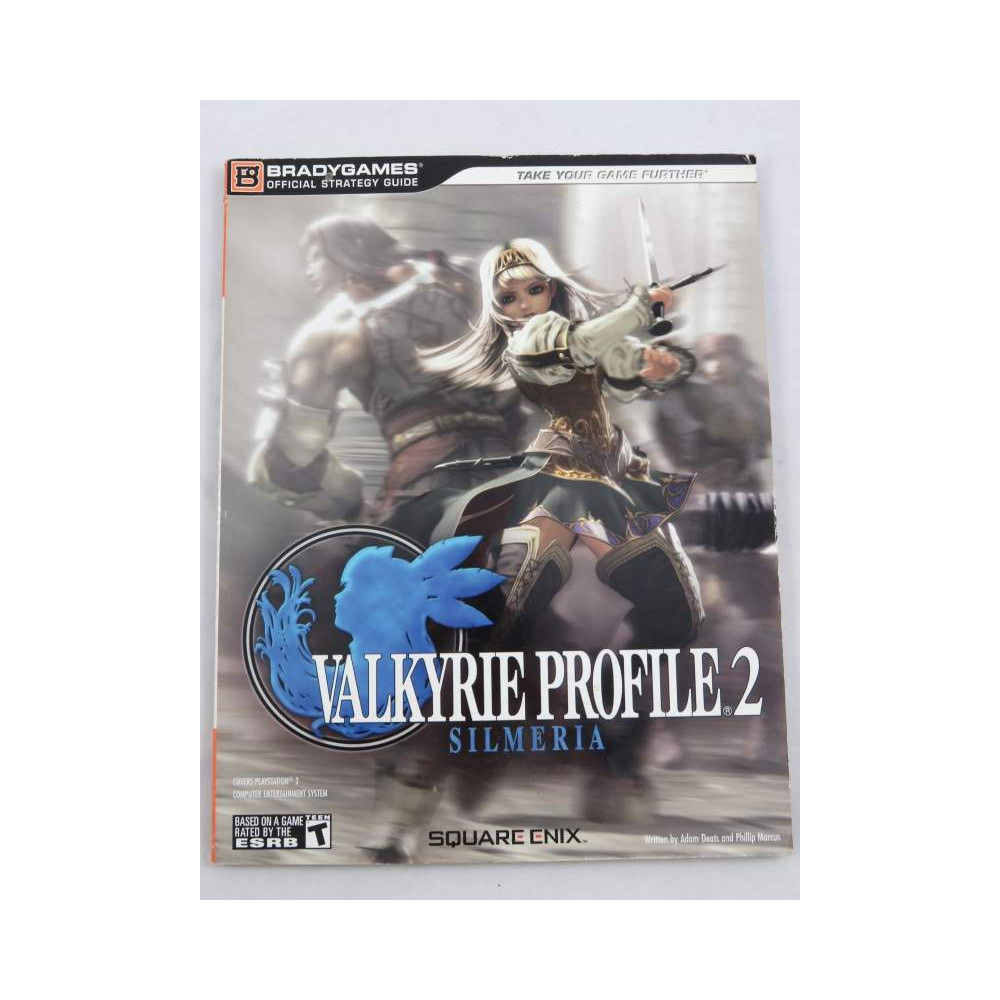 GUIDE VALKYRIE PROFILE 2 BOOK USA OCCASION
