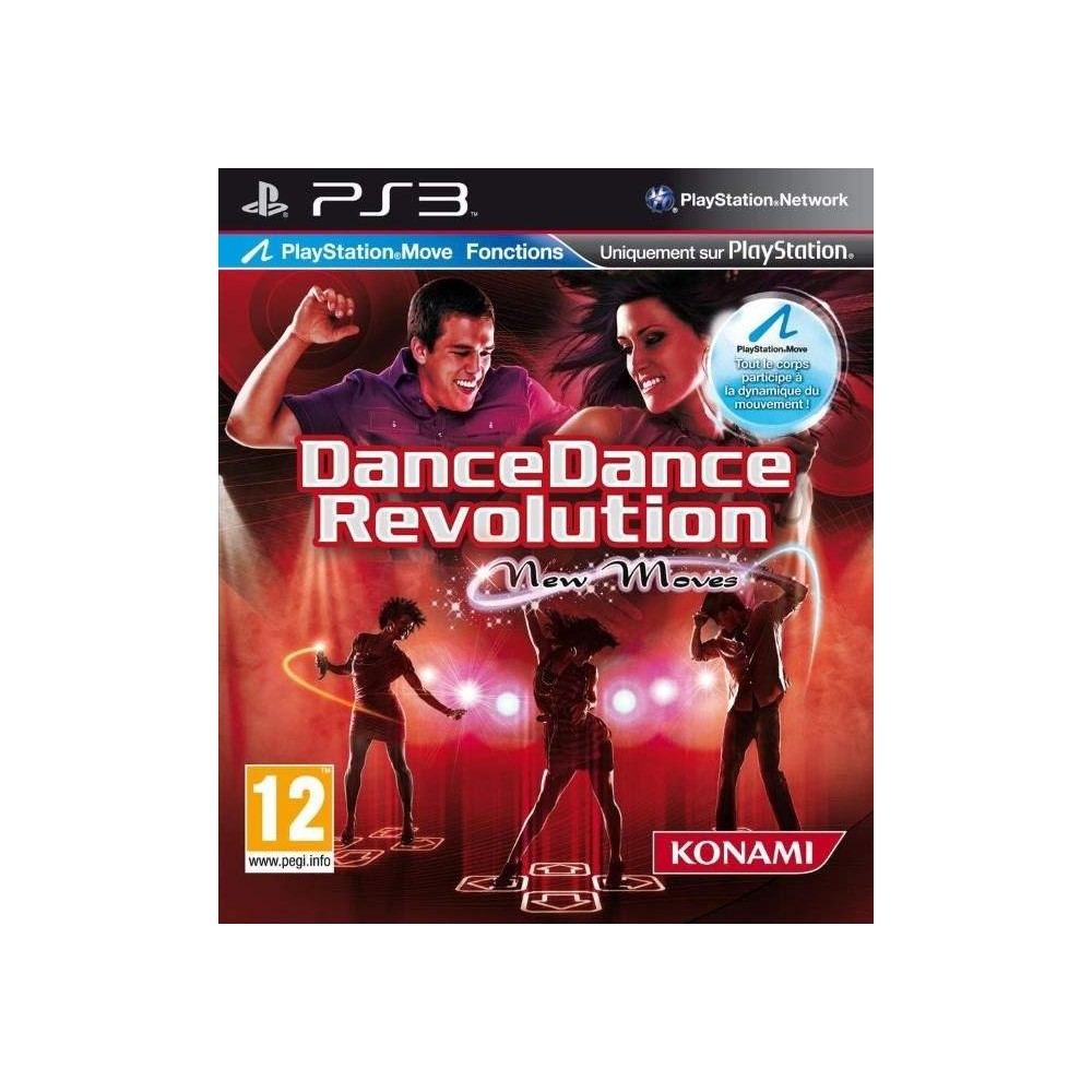 DANCE DANCE REVOLUTION NEW MOVES (TAPIS + JEU) PS3 EURO NEW