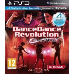 DANCE DANCE REVOLUTION NEW MOVES (TAPIS + JEU) PS3 EURO NEW
