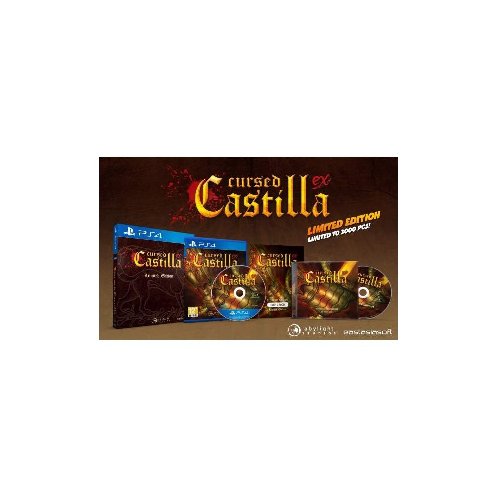 CURSED CASTILLA EX LIMITED EDITION PS4 ASIAN NEW