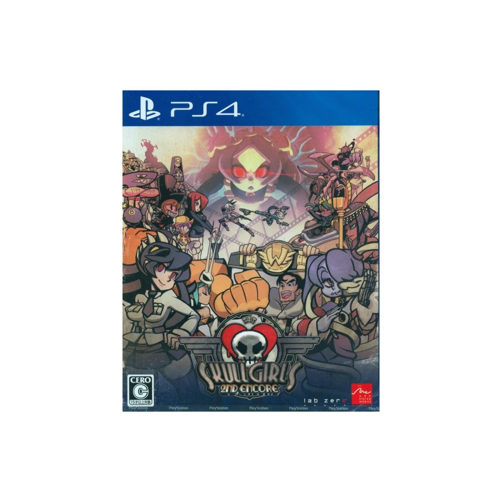 SKULLGIRLS 2ND ENCORE PS4 JAP