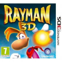 RAYMAN 3D 3DS FR OCCASION