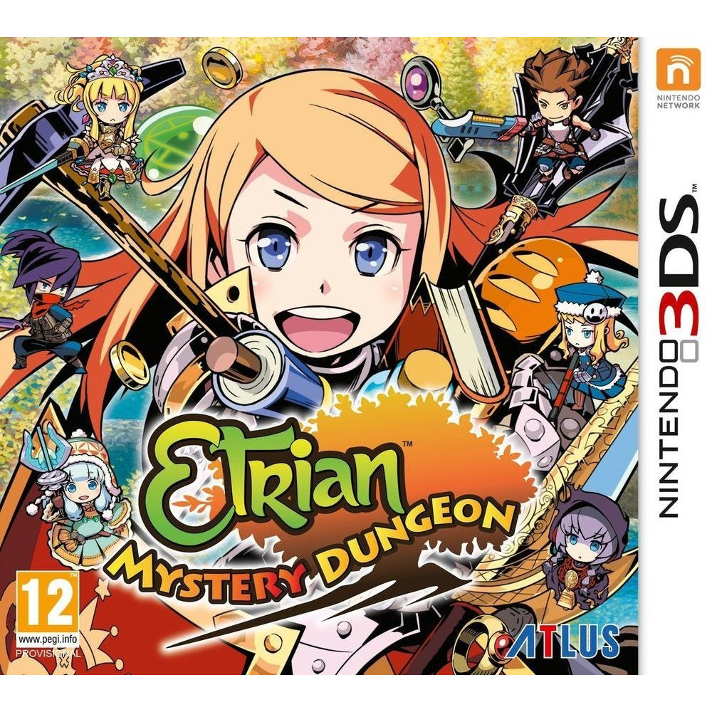 ETRIAN MYSTERY DUNGEON 3DS FR