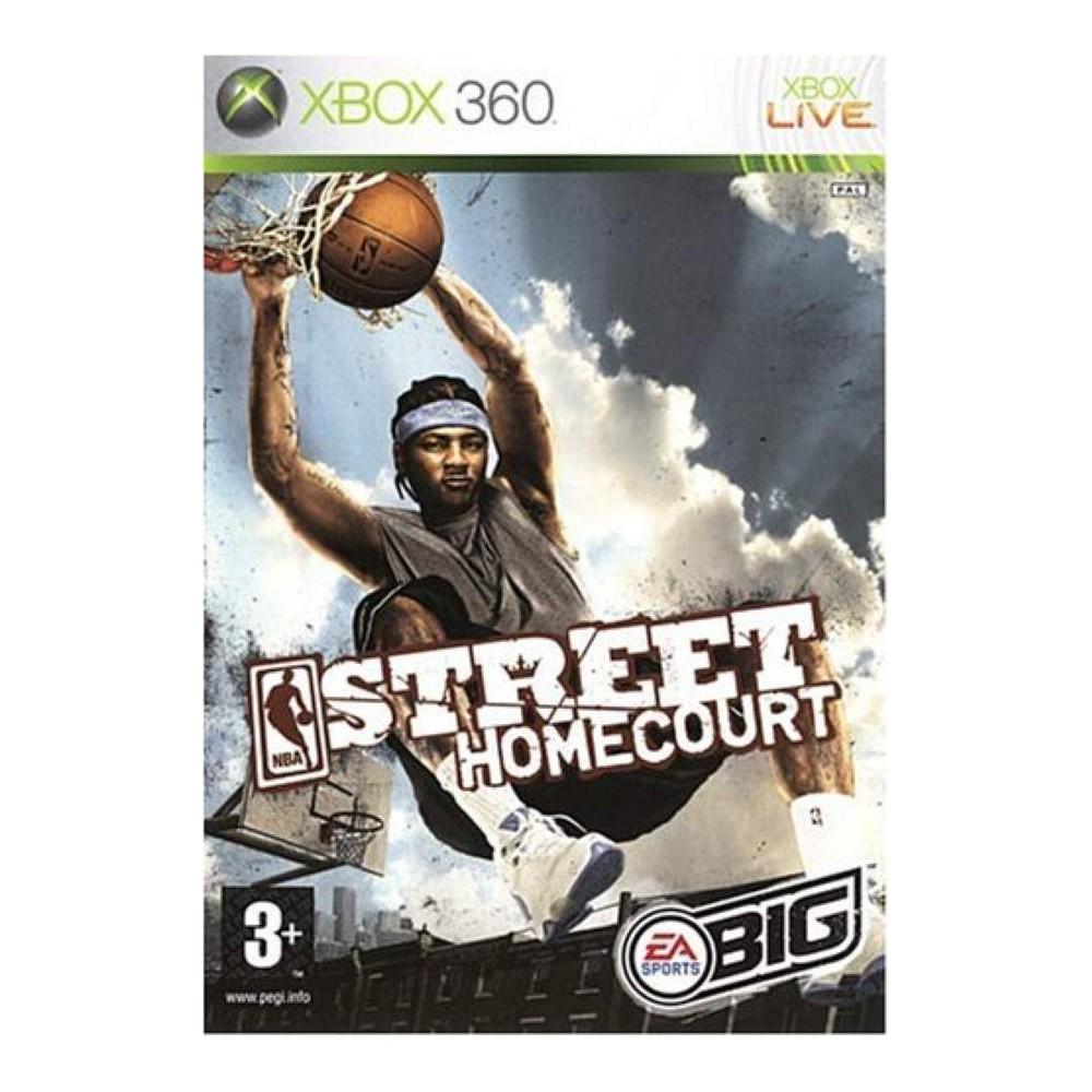 NBA STREET HOMECOURT XBOX 360 PAL-FR OCCASION