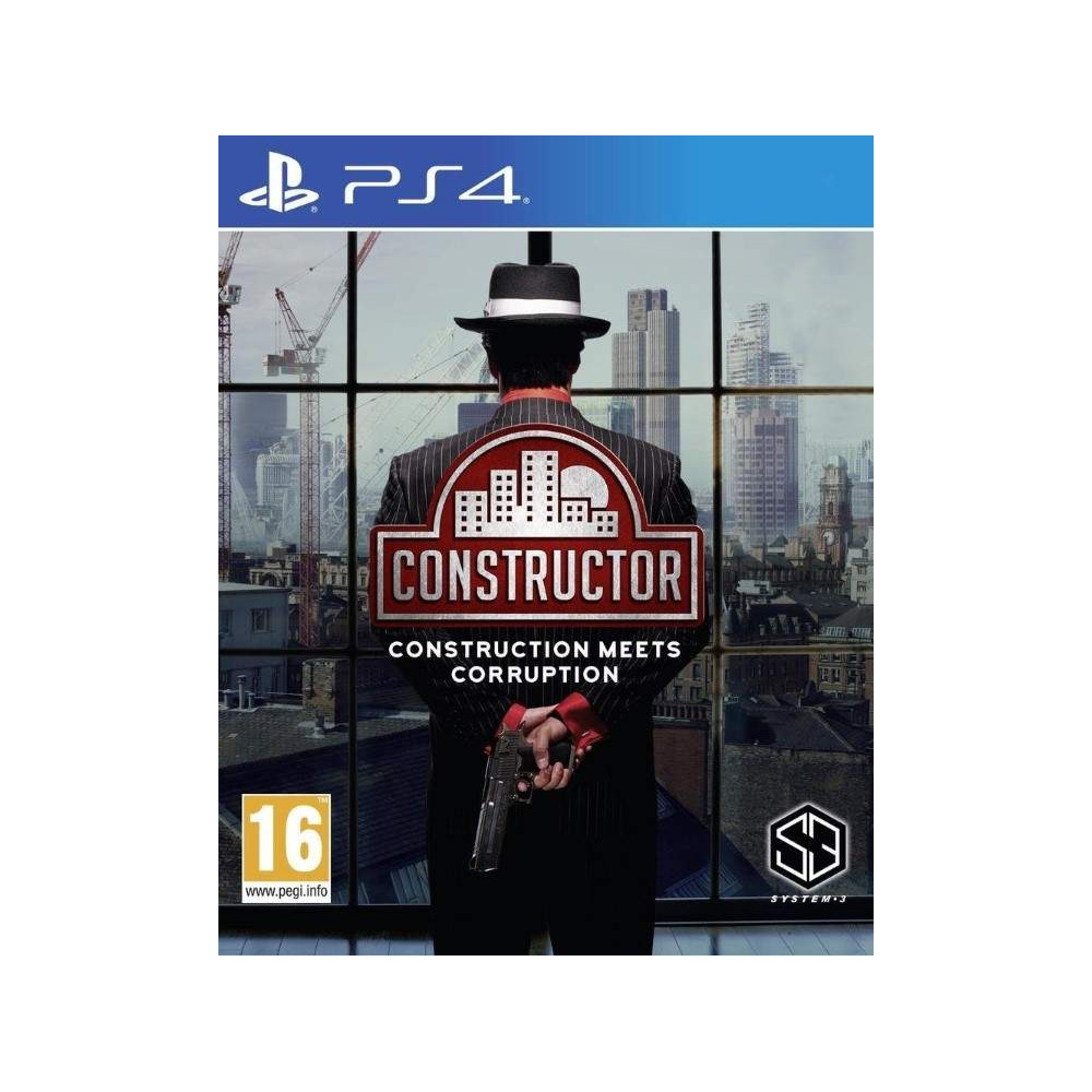 CONSTRUCTOR PS4 EURO FR NEW
