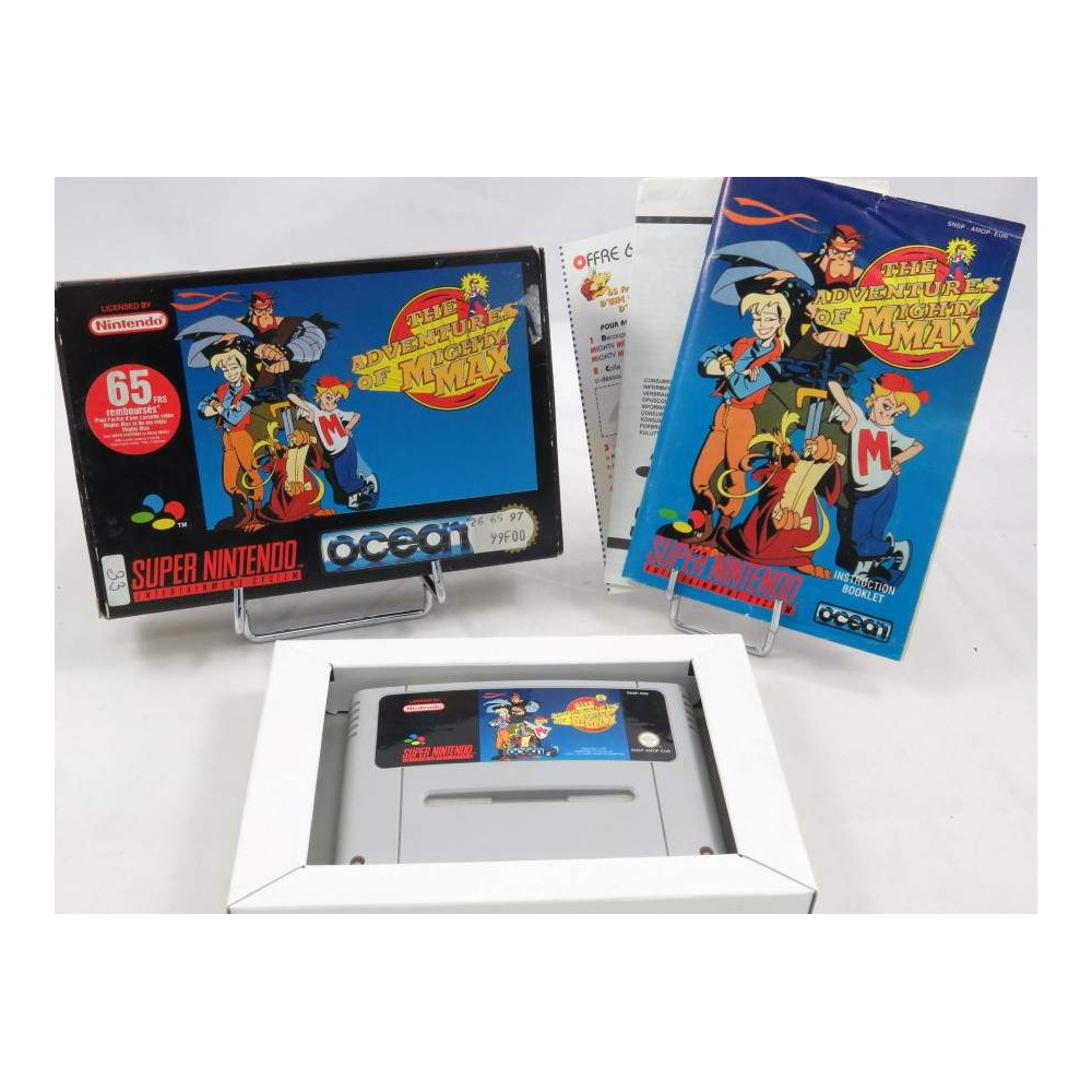 THE ADVENTURES OF MIGHTY MAX SNES PAL-EUR OCCASION