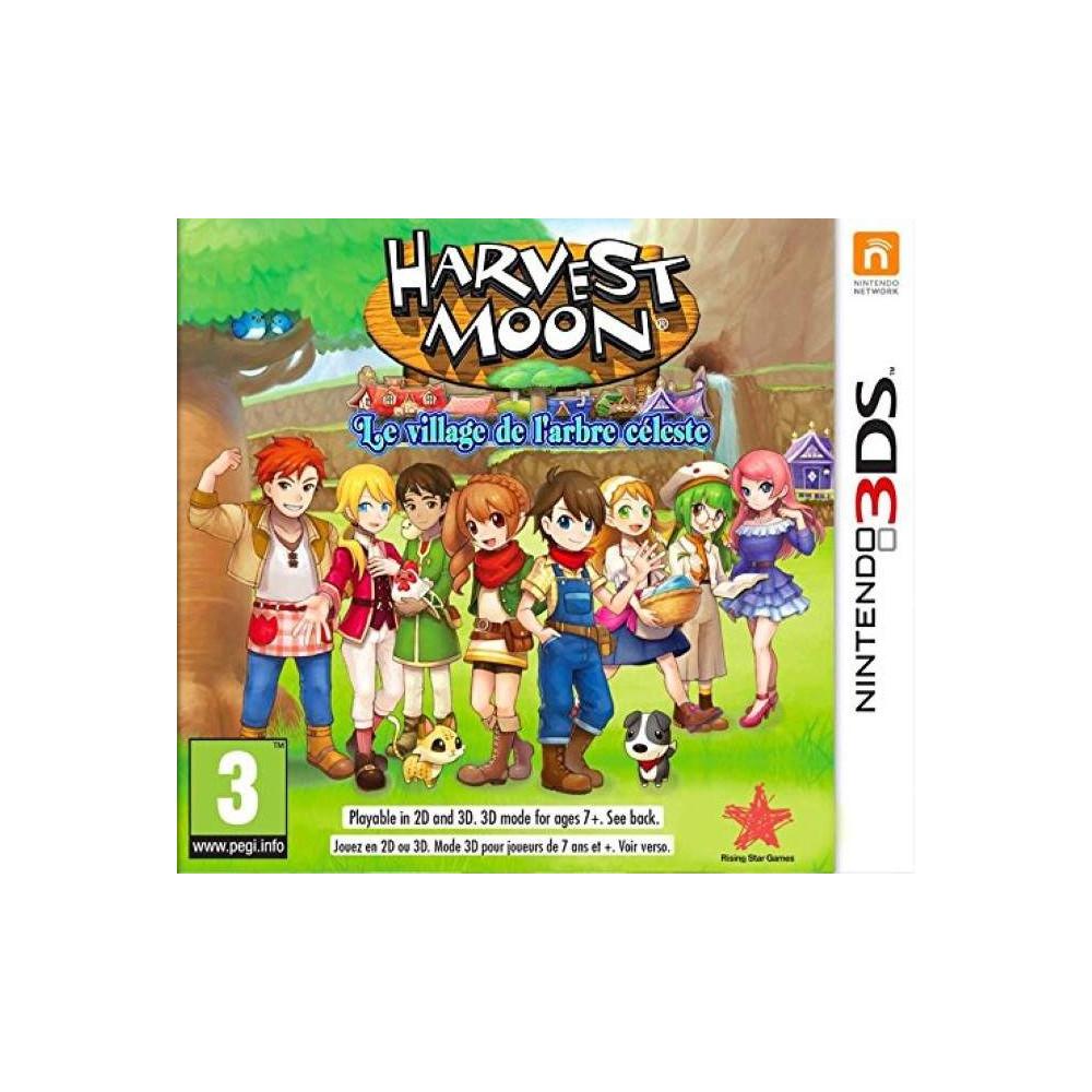 HARVEST MOON LE VILLAGE DE L ARBRE CELESTE 3DS FR NEW