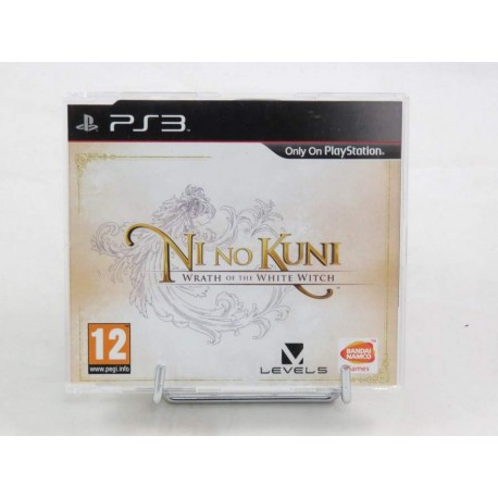 NI NO KUNI WRATH OF THE WHITE WITCH PROMO DISK PS3 UK OCCASION