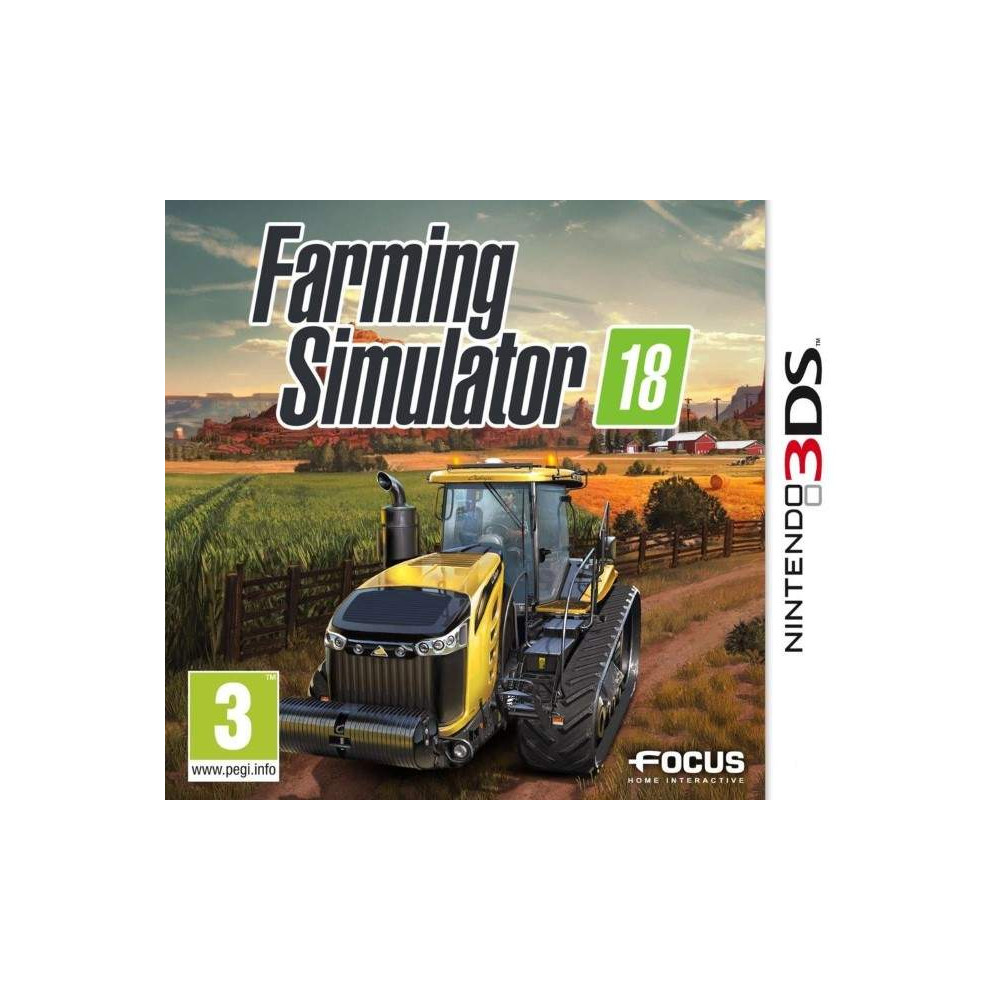 FARMING SIMULATOR 18 3DS FR NEW