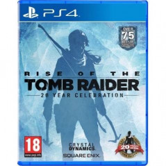 RISE OF THE TOMB RAIDER 20 YEAR CELEBRATION PS4 UK NEW