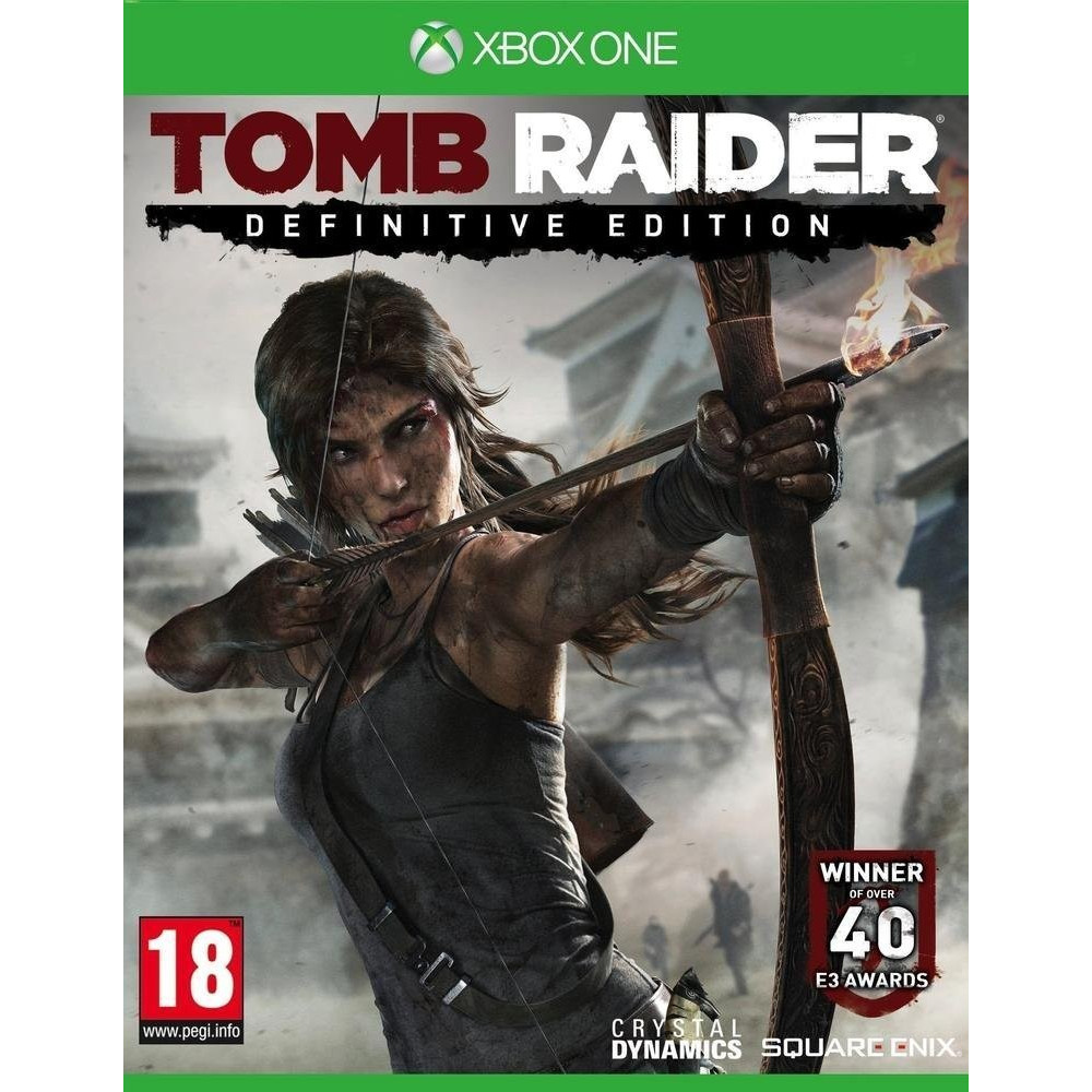 TOMB RAIDER DEFINITIVE EDITION XONE FR OCCASION