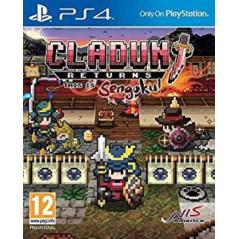 CLADUN RETURNS THIS IS SENGOKU PS4 FR NEW