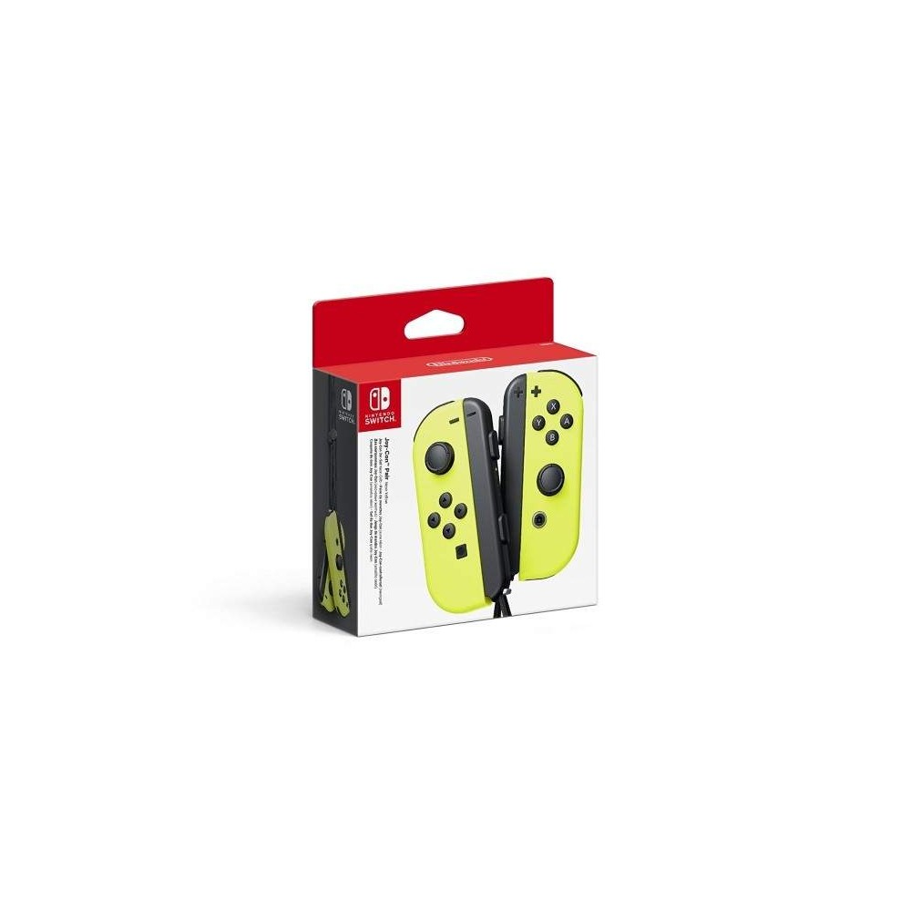 CONTROLLER JOY CON PAIR NEON YELLOW SWITCH EURO NEW