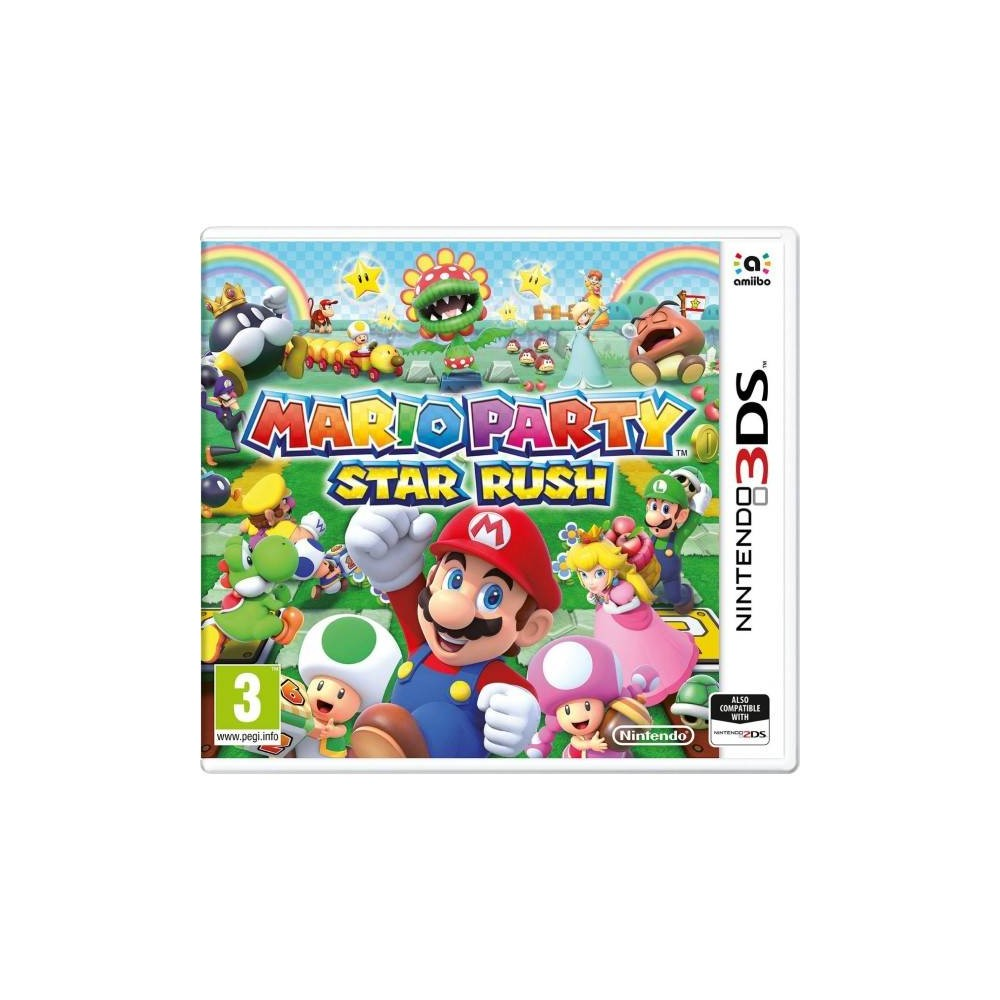 MARIO PARTY STAR RUSH 3DS PAL-FR OCCASION