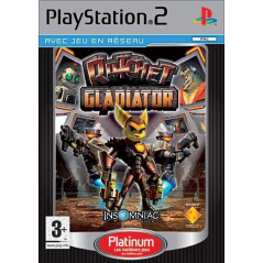 RATCHET GLADIATOR PLATINUM PS2 PAL-FR OCCASION