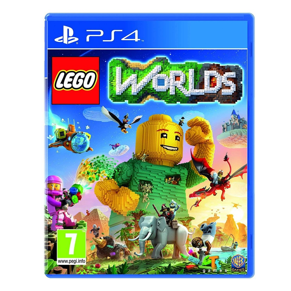 LEGO WORLDS PS4 UK OCCASION