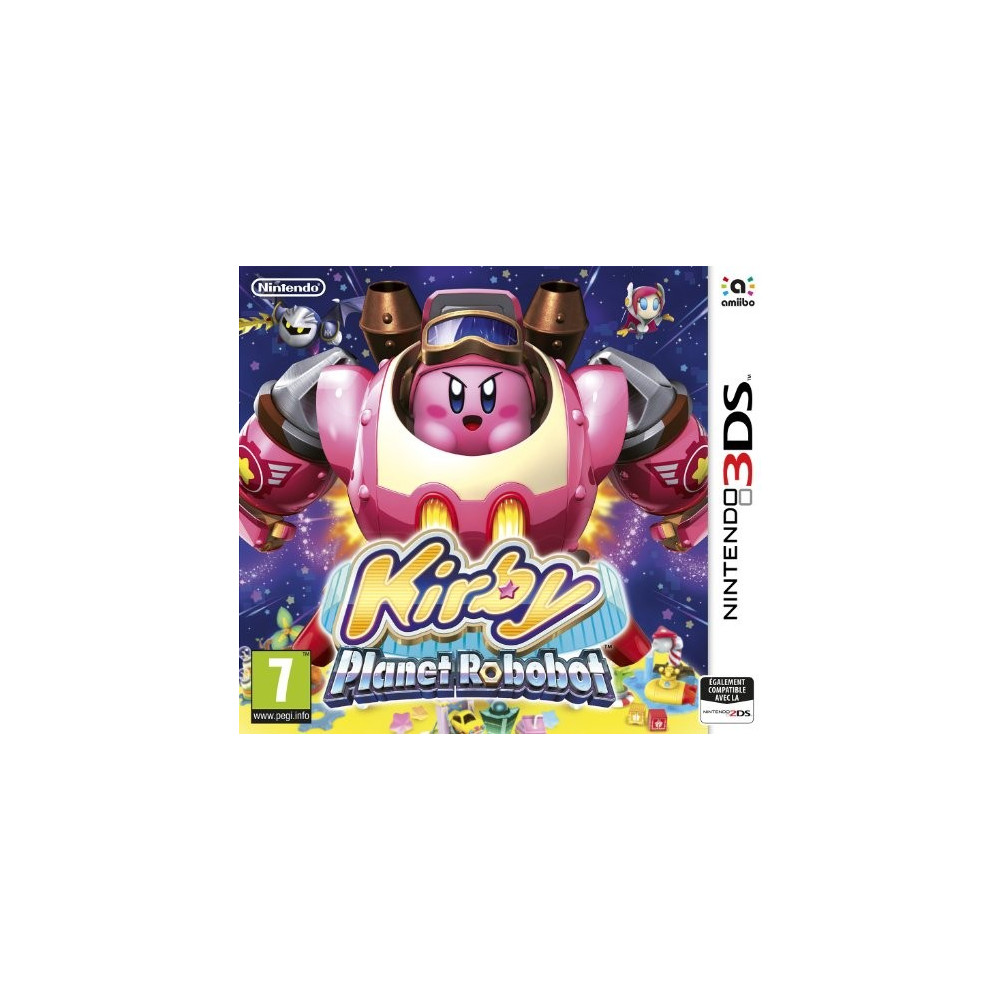 KIRBY PLANET ROBOBOT 3DS UK OCCASION