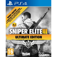 SNIPER ELITE 3 ULTIMATE EDITION PS4 UK OCCASION
