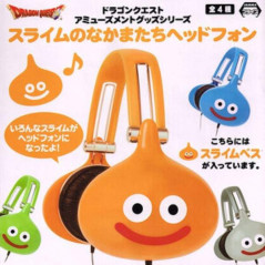 DRAGON QUEST HEADPHONES SLIME ORANGE JAPAN NEW