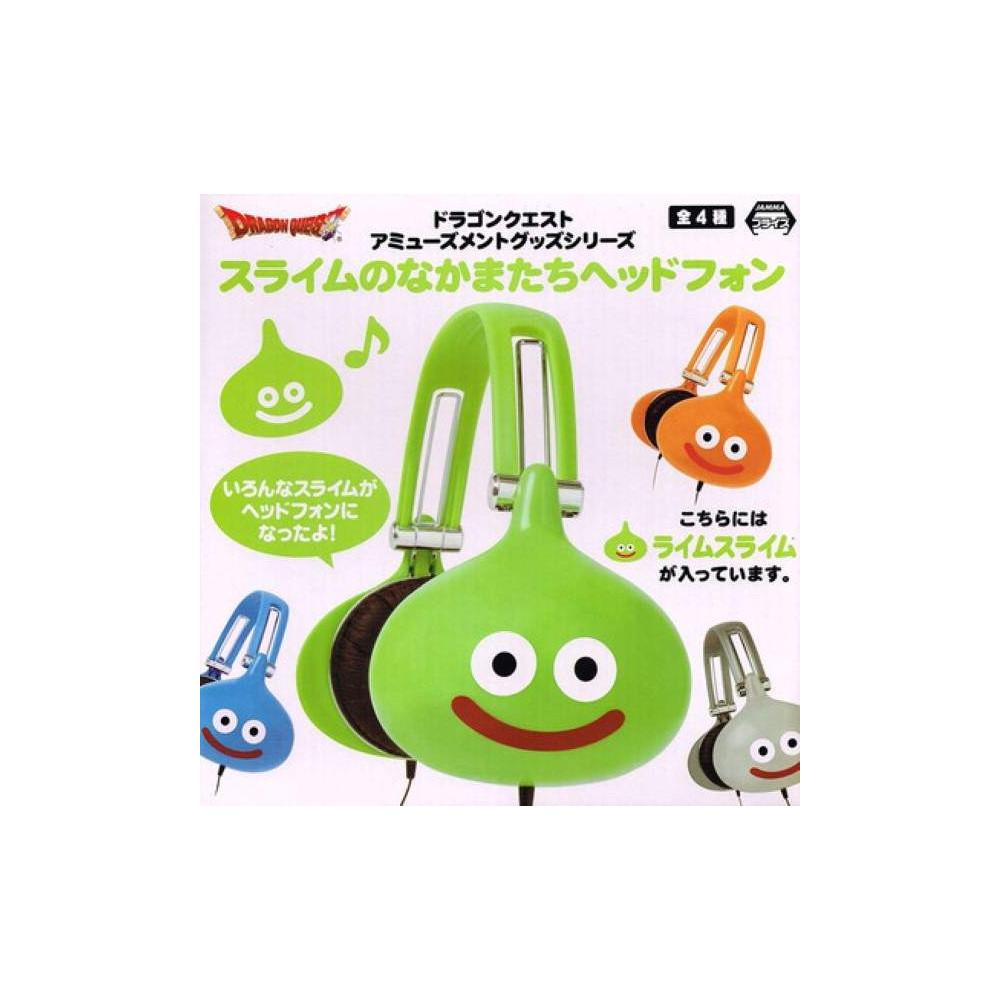 DRAGON QUEST HEADPHONES SLIME VERT JAPAN NEW