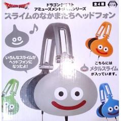 DRAGON QUEST HEADPHONES SLIME GRIS JAPAN NEW