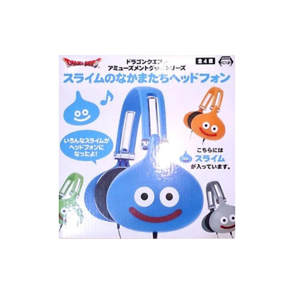 DRAGON QUEST HEADPHONES SLIME BLEU JAPAN NEW