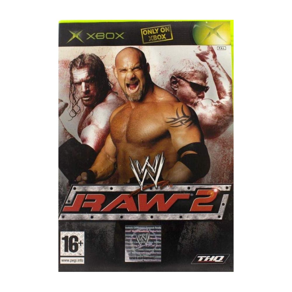 W RAW 2 XBOX PAL-UK OCCASION