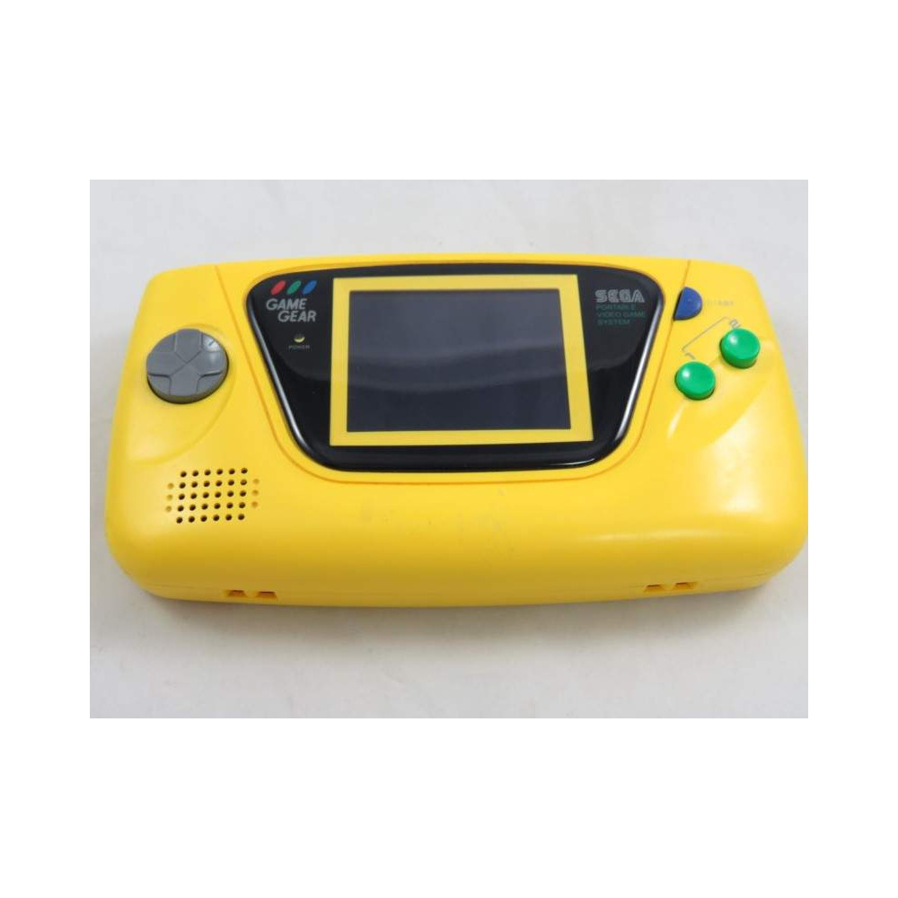 CONSOLE GAME GEAR JAUNE JPN OCCASION