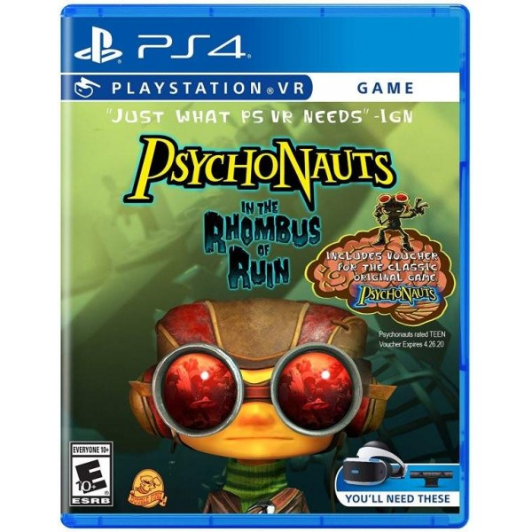 PSYCHONAUTS IN THE RHOMBUS OF RUIN PS4 USA NEW