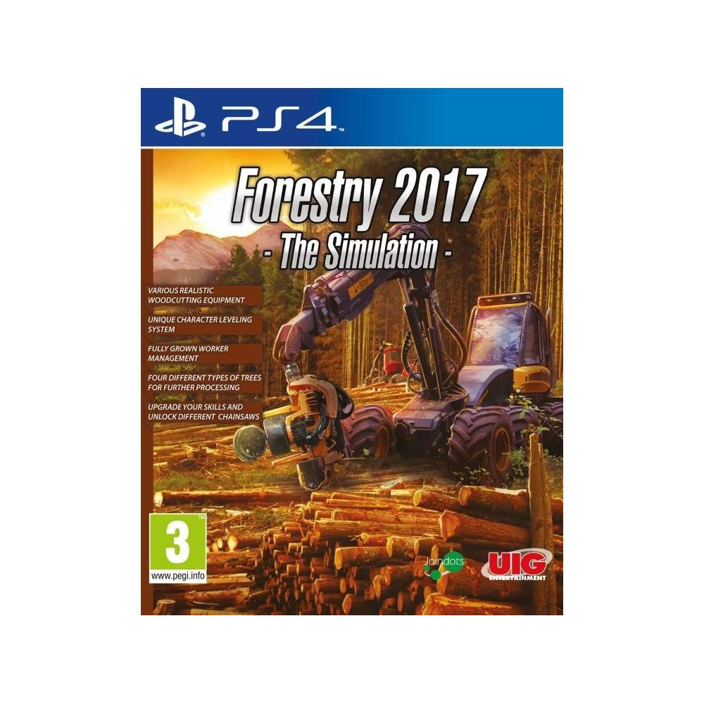 achat forestry 2017 ps4 euro new jeu playstation 4 62730 trader games. Black Bedroom Furniture Sets. Home Design Ideas