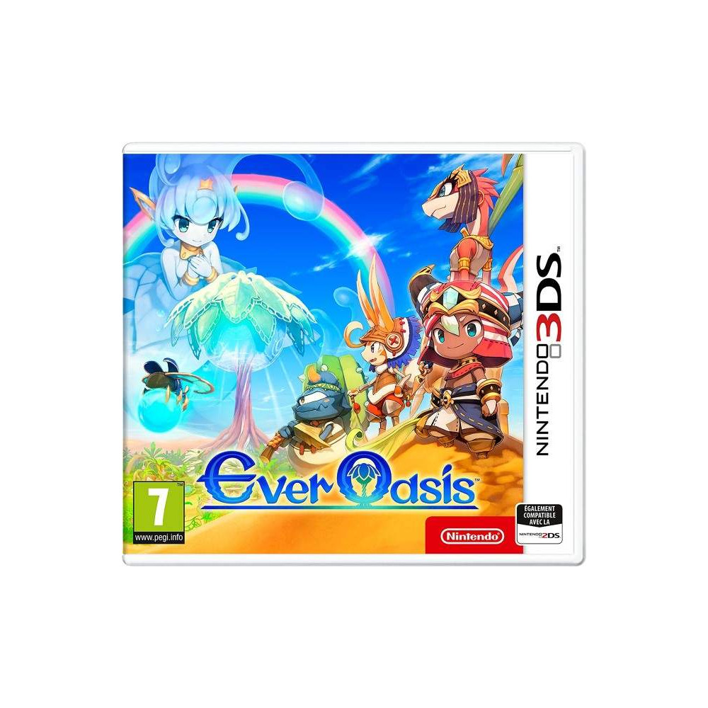 EVER OASIS 3DS UK NEW