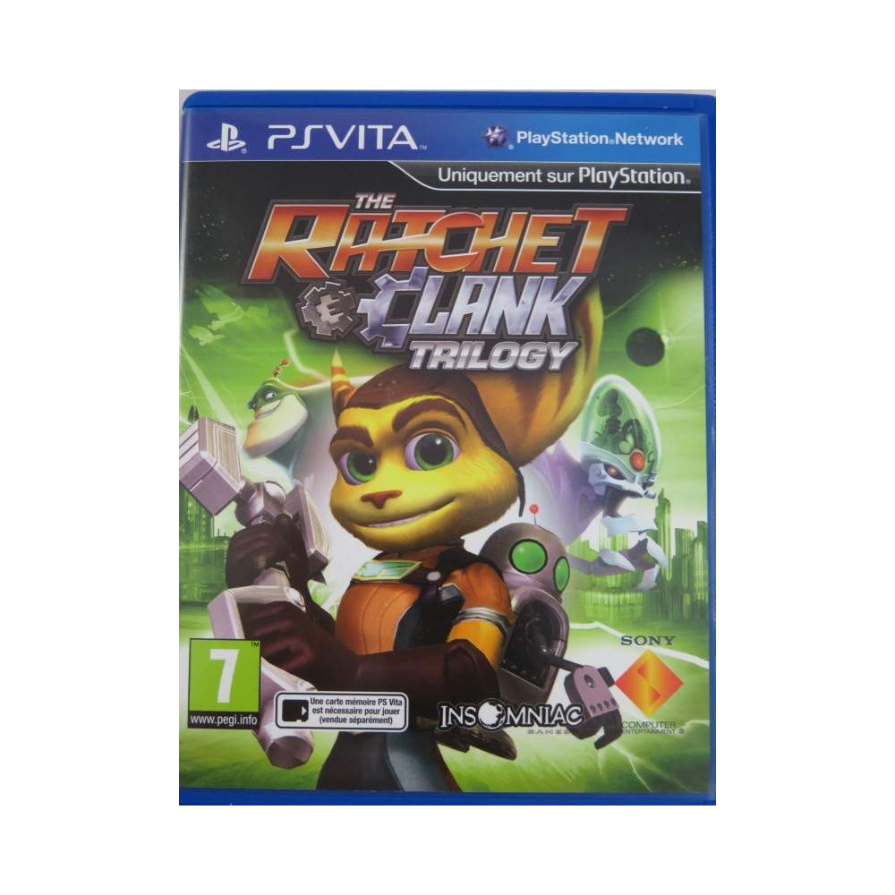 RATCHET AND CLANK TRILOGY PSVITA EURO FR OCCASION