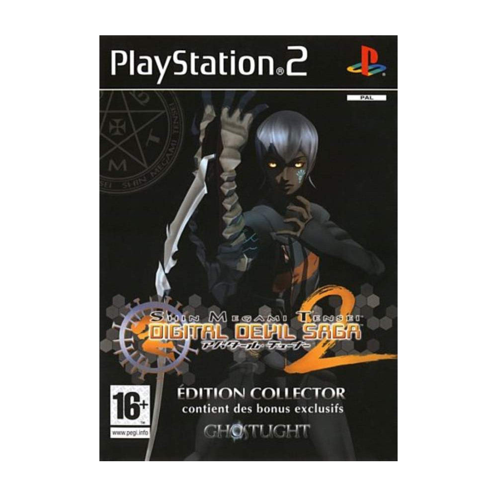 DIGITAL DEVIL SAGA 2 COLLECTOR PS2 PAL-FR OCCASION