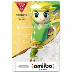 AMIIBO THE LEGEND OF ZELDA TOON LINK KAZE NO TAKUTO JPN NEW
