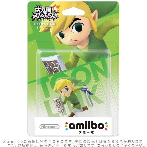 AMIIBO CARTOON LINK THE WIND WAKER JPN NEW