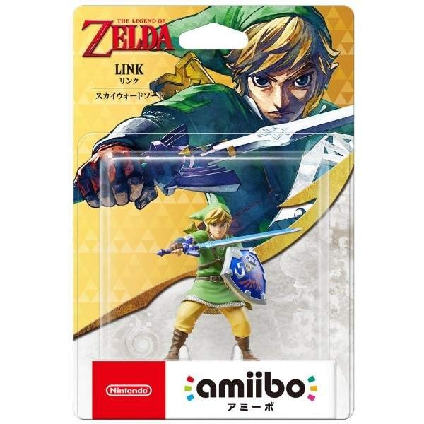 AMIIBO THE LEGEND OF ZELDA LINK SKYWARD SWORD JPN NEW