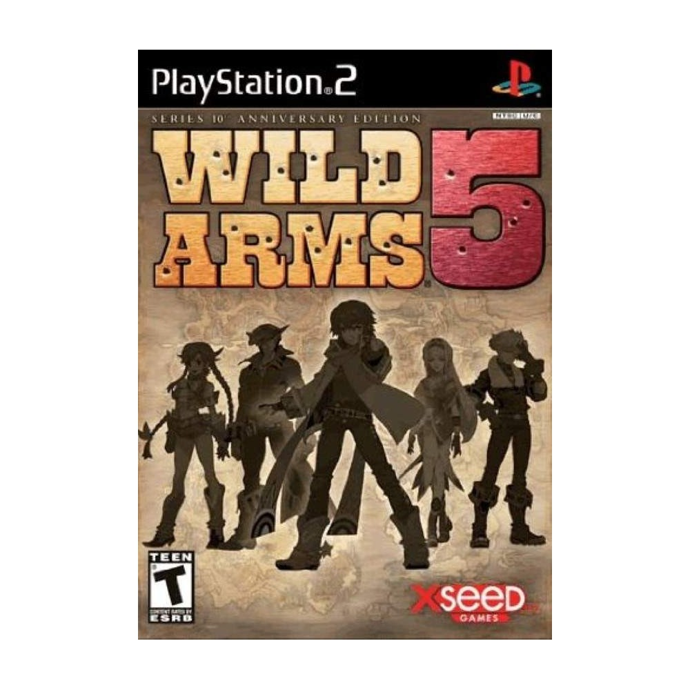 WILD ARMS 5 COLLECTOR PS2 NTSC USA OCCASION