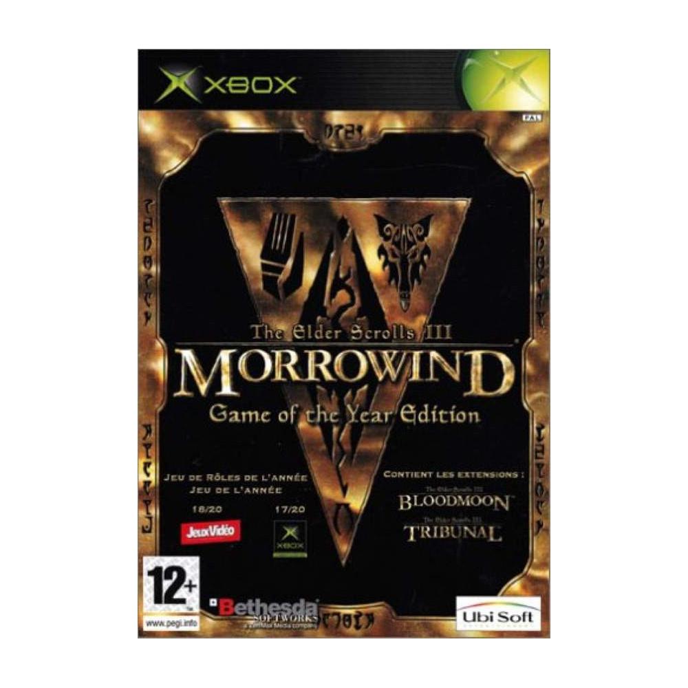 MORROWIND GOTY EDITION XBOX PAL-FR OCCASION