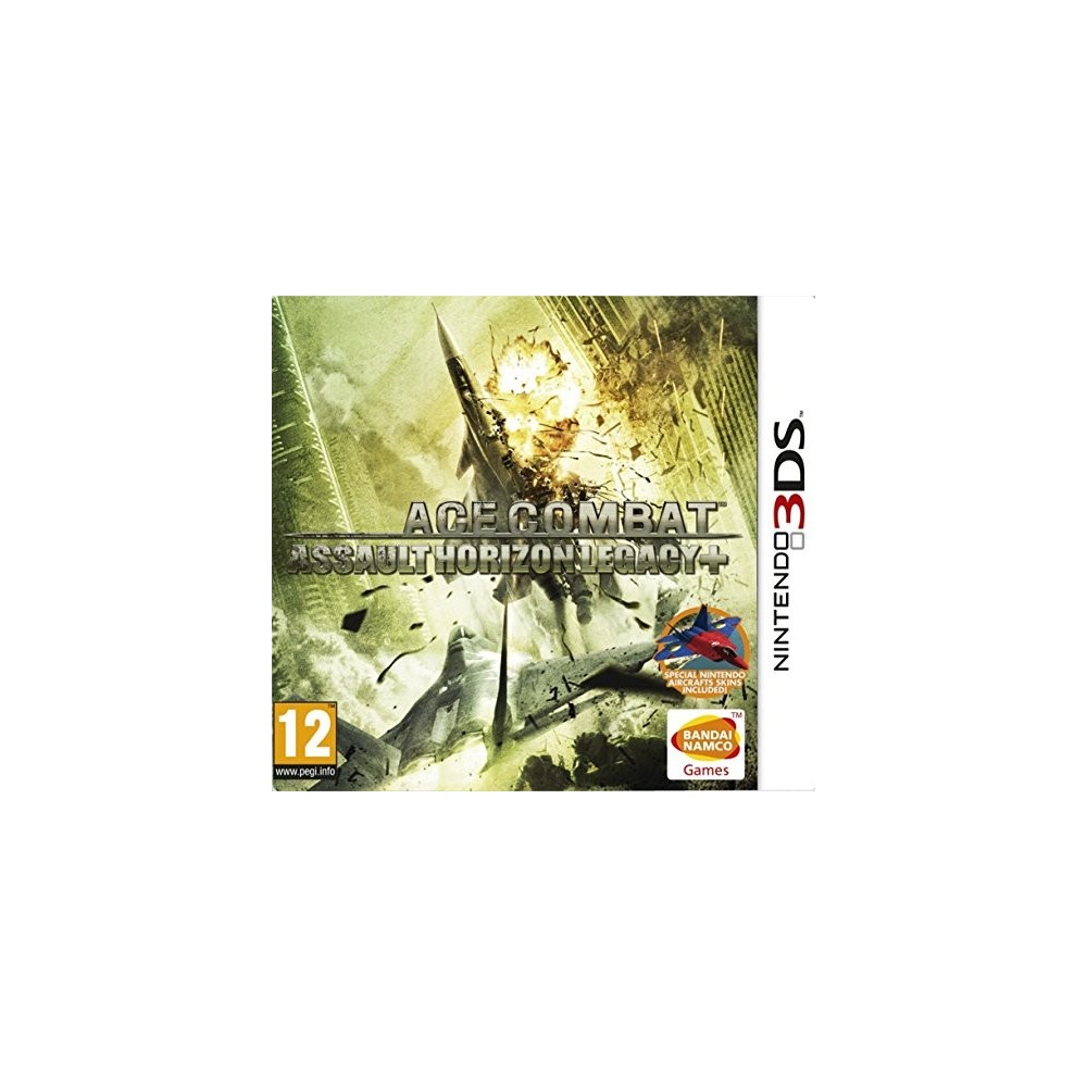 ACE COMBAT ASSAULT HORIZON LEGACY + 3DS VF OCC