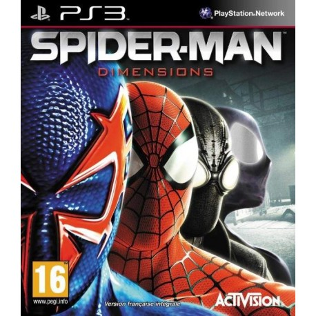 SPIDER-MAN DIMENSIONS PS3 FR OCCASION