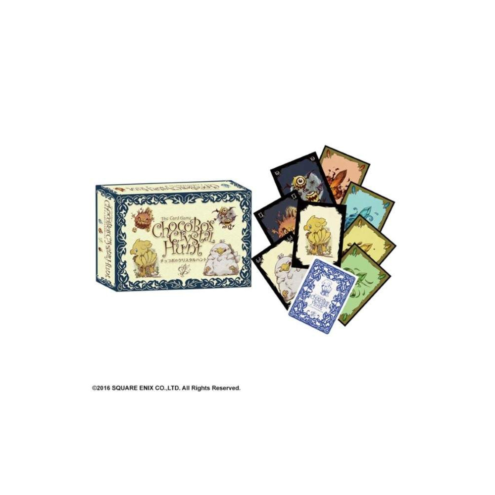 CARD GAME CHOCOBO'S CRYSTAL HUNT JPN NEW