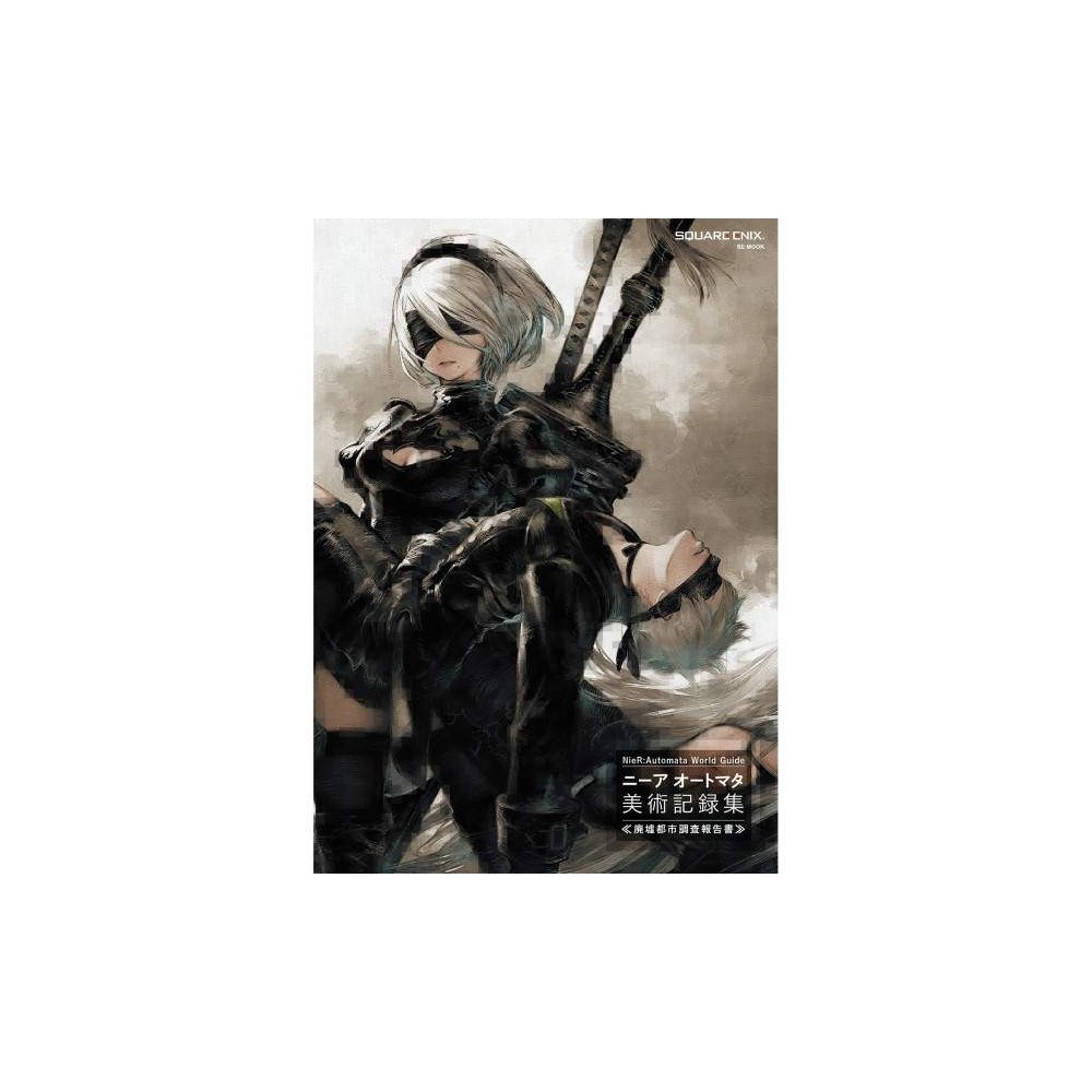 NIER:AUTOMATA WORLD GUIDE AND ARTBOOK -Square Enix Japon- NEUF