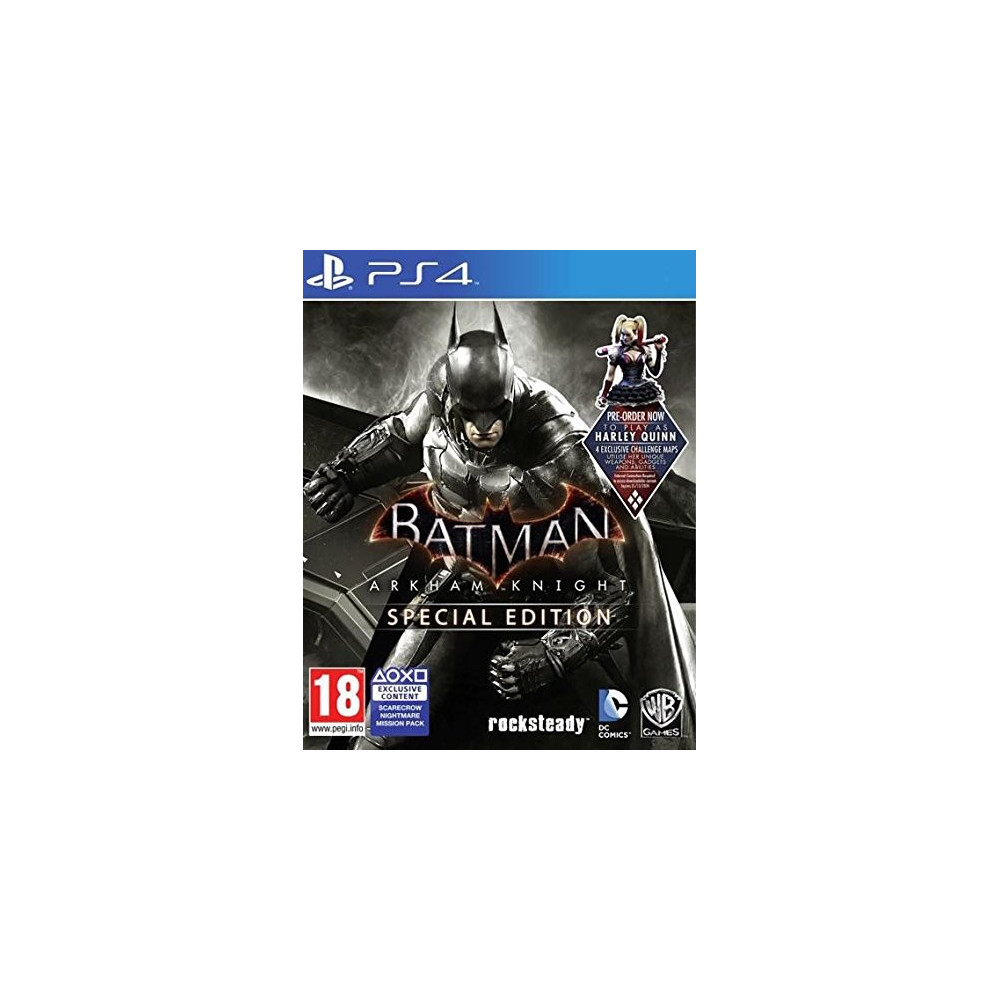 BATMAN ARKHAM KNIGHT +STEELBOOK PS4 FR OCCASION