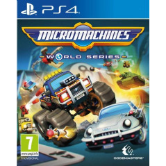 MICROMACHINES WORLD SERIES PS4 EURO FR NEW