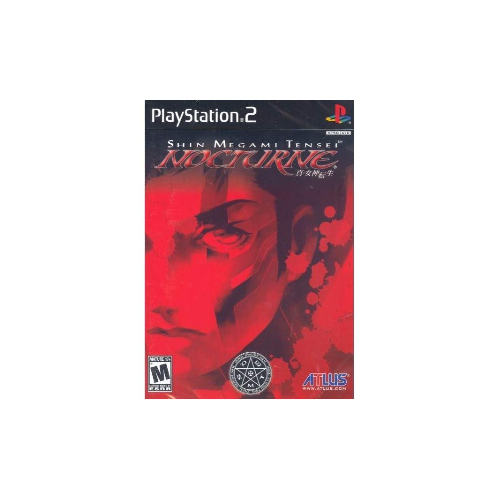 SHIN MEGAMI TENSEI NOCTURNE PS2 NTSC-USA NEW
