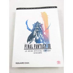 GUIDE FINAL FANTASY XII EDITION LIMITEE OCCASION