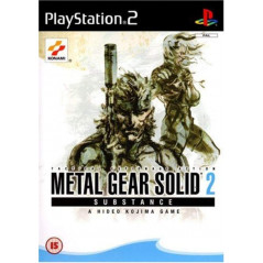 METAL GEAR SOLID SUBSTANCE PS2 PAL-FR OCCASION