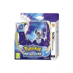 POKEMON MOON FAN EDITION 3DS PAL-UK NEW