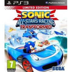 SONIC & ALL STARS RACING TRANSFORMED (EDITION LIMITEE) PS3 FR OCCASION